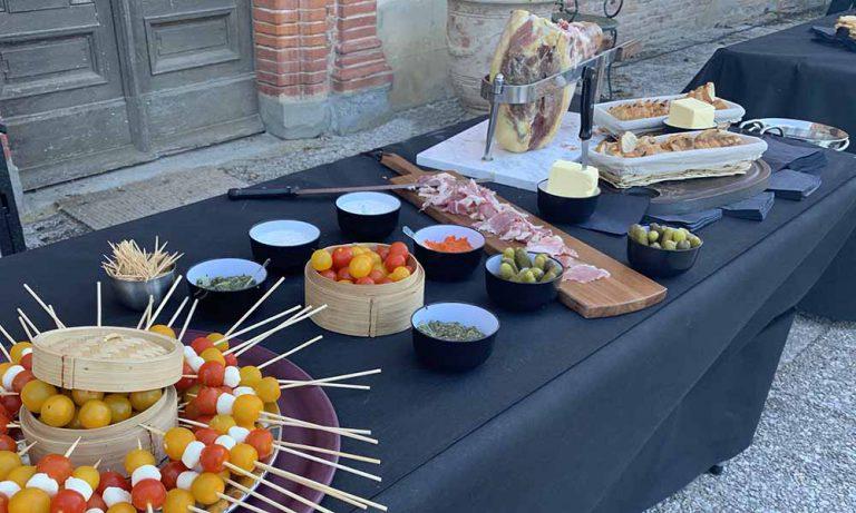 buffet par La Poêlée