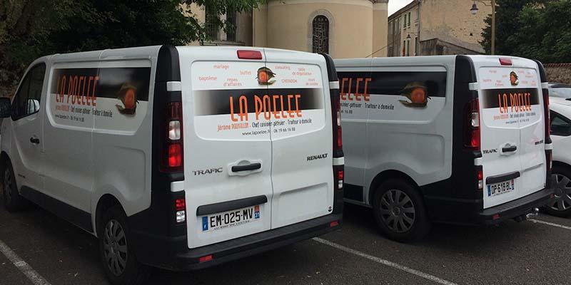 camions La Poêlée Traiteur à domicile - 31250 Revel