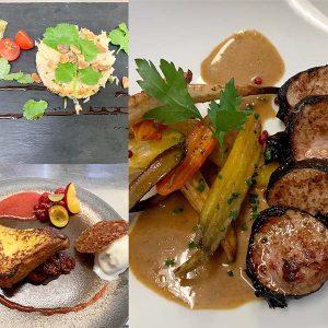 menu table de dégustation LA POELEE à Revel