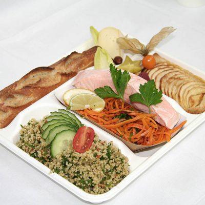 Commande en ligne de plateau repas de La Poelee Traiteur